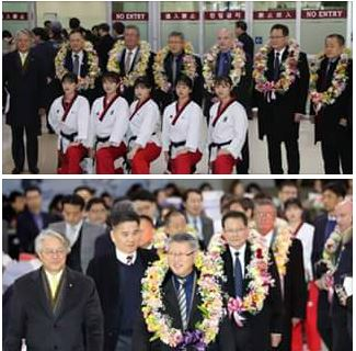 Koreas united with Taekwon-Do
