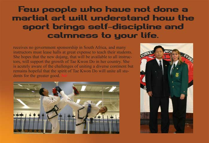 Annali Basson Taekwon_Do Times