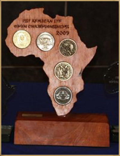 1st African Championships Trophies