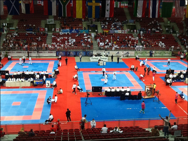 World Championships Stands