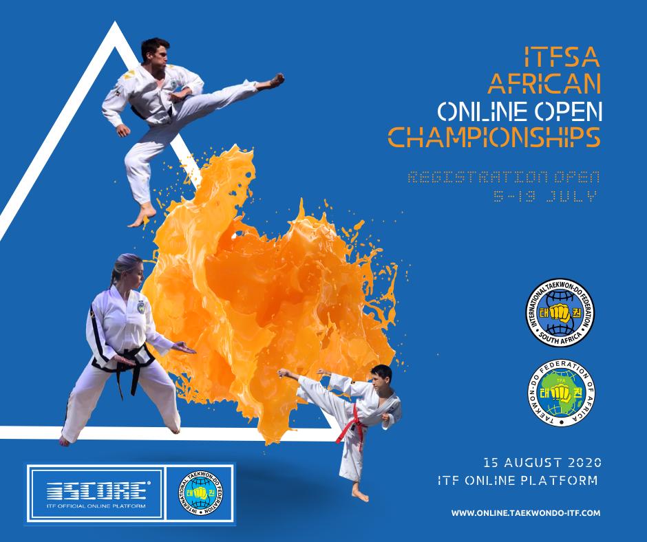 ITFSA AFRICAN online Taekwon-Do Championships
